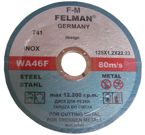 Tarcze do metalu 125x1,2 FELMAN tarcza Cutting discs for metal and stainless