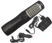 Lampa 28+4+3 LED + hak 2000 MAH FT182834 Falon Tech latarka