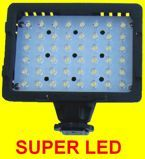 Lampa diodowa do kamer 48 led 5400/3200K super mocna.