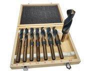 Zestaw 8el wierteł wiertło do metalu drewna 14-25,5 wood drill set 8pcs FT200804 podtaczane