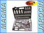 "Zestaw kluczy nasadowe 94 el. klucze CHROME VANADIUM FELMAN 94el. Set Combination Socket Wrench Tools Set 1/2""&1/4"""