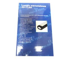 Lampa 30+7 LED 12000 MAH FT183070 dwustronna Falon Tech